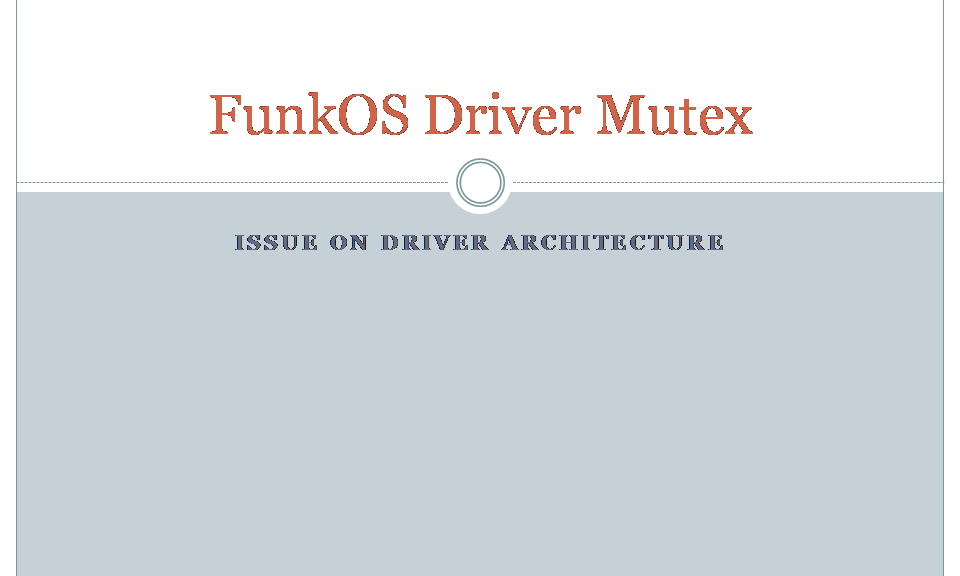 CoFILOS Mutex on SPI Driver