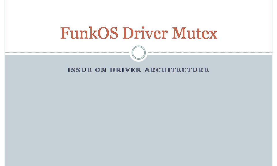 CoFILOS Mutex on SPI Driver