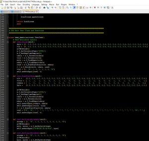 Python Test Code